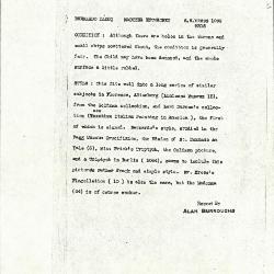Image for K1089 - Alan Burroughs report, circa 1930s-1940s