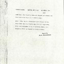 Image for K1092 - Alan Burroughs report, circa 1930s-1940s