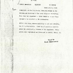 Image for K1101 - Alan Burroughs report, circa 1930s-1940s