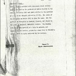 Image for K1098 - Alan Burroughs report, circa 1930s-1940s