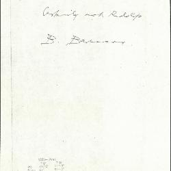 Image for K1098 - Expert opinion by Berenson, circa 1920s-1950s