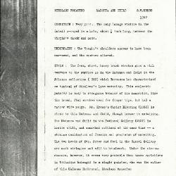 Image for K1097 - Alan Burroughs report, circa 1930s-1940s