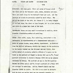 Image for K1104 - Alan Burroughs report, circa 1930s-1940s