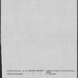 Image for K1097 - Art object record, circa 1930s-1950s