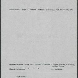Image for K1106 - Art object record, circa 1930s-1950s