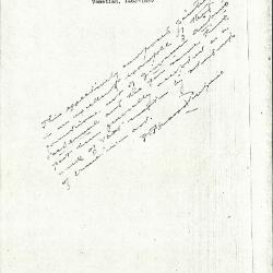 Image for K1106 - Expert opinion by Perkins, circa 1920s-1940s