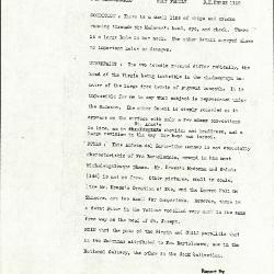 Image for K1105 - Alan Burroughs report, circa 1930s-1940s
