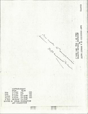 Image for K1107C - Expert opinion by Perkins, circa 1920s-1940s