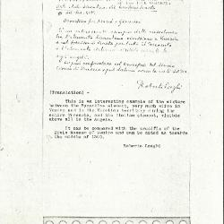 Image for K0112 - Expert opinion by Longhi, circa 1920s-1950s