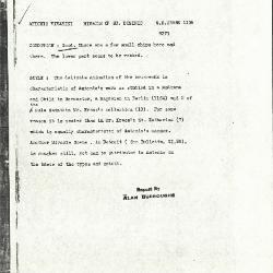 Image for K1116 - Alan Burroughs report, circa 1930s-1940s