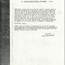 Image for K0112 - Alan Burroughs report, circa 1930s-1940s