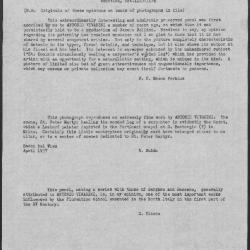 Image for K1116 - Expert opinion by Fiocco et al., circa 1930s-1940s