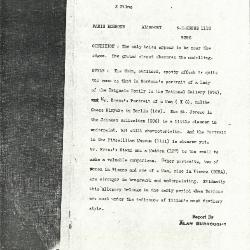 Image for K1112 - Alan Burroughs report, circa 1930s-1940s