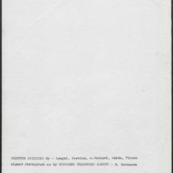 Image for K1117 - Art object record, circa 1930s-1950s