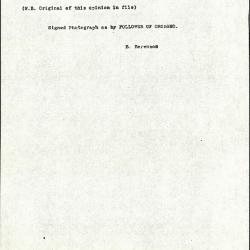 Image for K1121 - Expert opinion by Berenson, circa 1920s-1950s