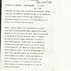 Image for K1125 - Alan Burroughs report, circa 1930s-1940s