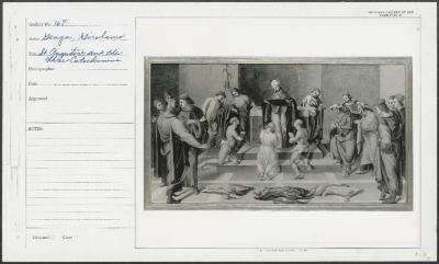 Image for K0113 - National Gallery of Art mounted photograph, circa 1940s-1950s