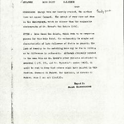 Image for K1122B - Alan Burroughs report, circa 1930s-1940s