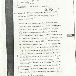 Image for K1123A - Alan Burroughs report, circa 1930s-1940s