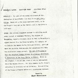 Image for K1126 - Alan Burroughs report, circa 1930s-1940s