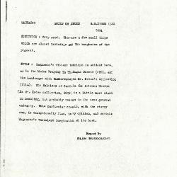 Image for K1130 - Alan Burroughs report, circa 1930s-1940s