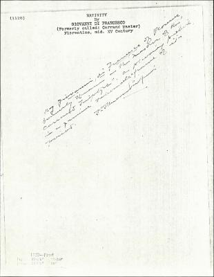 Image for K1128 - Expert opinion by Perkins, circa 1920s-1940s