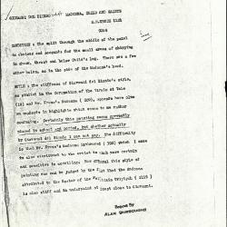 Image for K1121 - Alan Burroughs report, circa 1930s-1940s
