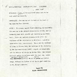 Image for K1124 - Alan Burroughs report, circa 1930s-1940s