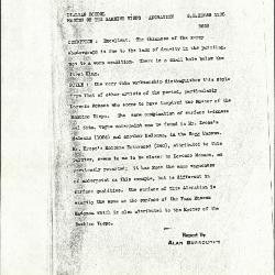 Image for K1135 - Alan Burroughs report, circa 1930s-1940s
