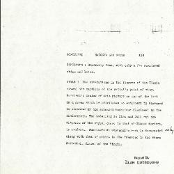 Image for K0114 - Alan Burroughs report, circa 1930s-1940s