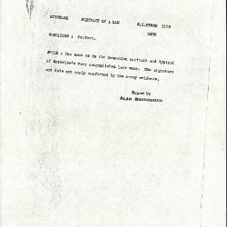 Image for K1133 - Alan Burroughs report, circa 1930s-1940s