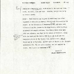 Image for K1141 - Alan Burroughs report, circa 1930s-1940s