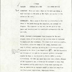 Image for K1136 - Alan Burroughs report, circa 1930s-1940s