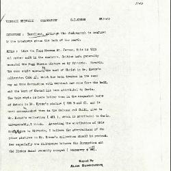 Image for K1140 - Alan Burroughs report, circa 1930s-1940s