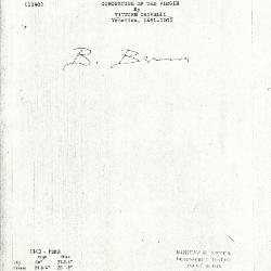 Image for K1140 - Expert opinion by Berenson, circa 1920s-1950s