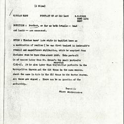 Image for K1134 - Alan Burroughs report, circa 1930s-1940s