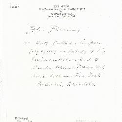 Image for K1141 - Expert opinion by Berenson, circa 1920s-1950s