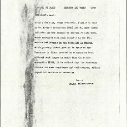 Image for K1142 - Alan Burroughs report, circa 1930s-1940s