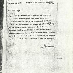 Image for K1150 - Alan Burroughs report, circa 1930s-1940s