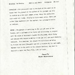 Image for K1144 - Alan Burroughs report, circa 1930s-1940s
