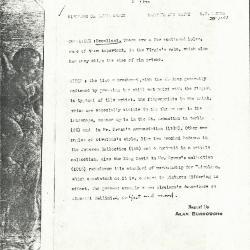 Image for K1151 - Alan Burroughs report, circa 1930s-1940s