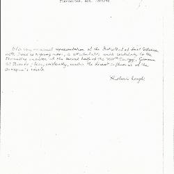 Image for K1150 - Expert opinion by Longhi, circa 1920s-1950s