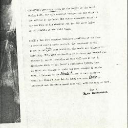 Image for K1143 - Alan Burroughs report, circa 1930s-1940s