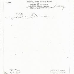 Image for K1148 - Expert opinion by Berenson, circa 1920s-1950s