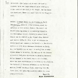 Image for K1147 - Alan Burroughs report, circa 1930s-1940s
