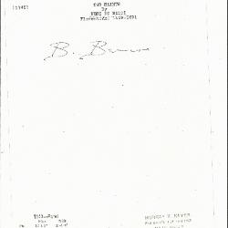 Image for K1143 - Expert opinion by Berenson, circa 1920s-1950s