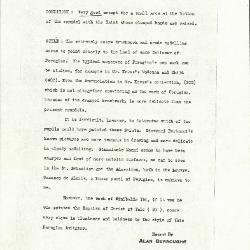 Image for K1153A - Alan Burroughs report, circa 1930s-1940s