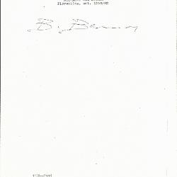 Image for K1150 - Expert opinion by Berenson, circa 1920s-1950s