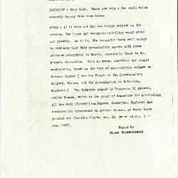 Image for K1145A - Alan Burroughs report, circa 1930s-1940s