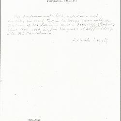 Image for K1146 - Expert opinion by Longhi, circa 1920s-1950s